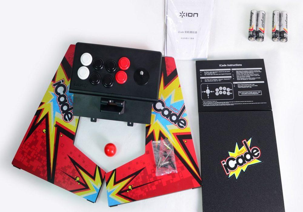 ION iCade Arcade Cabinet for iPad Build your Own Mini Arcade