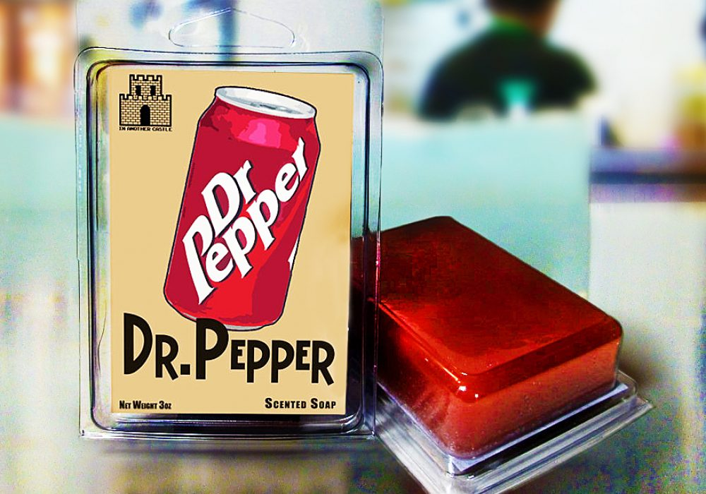 In Another Castle Dr. Pepper Scented Soap Buy Cool Bathroom Accessory