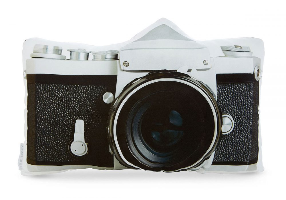 In the seem Vintage Camera Pillows Cute Novelty Item