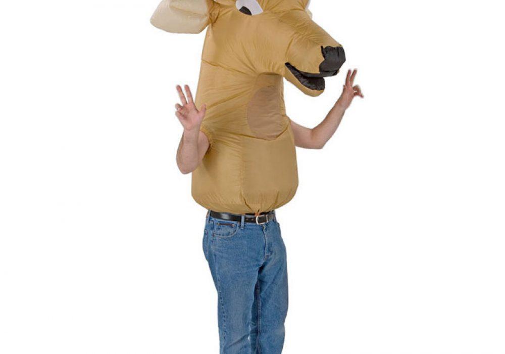 Inflatable Big Animal Head Deer Costume Funny