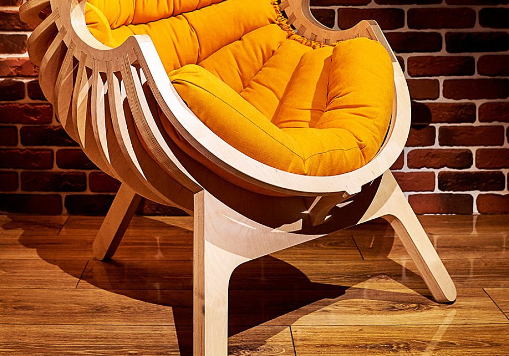 Ipatov Style Wooden Chair Home Furniture