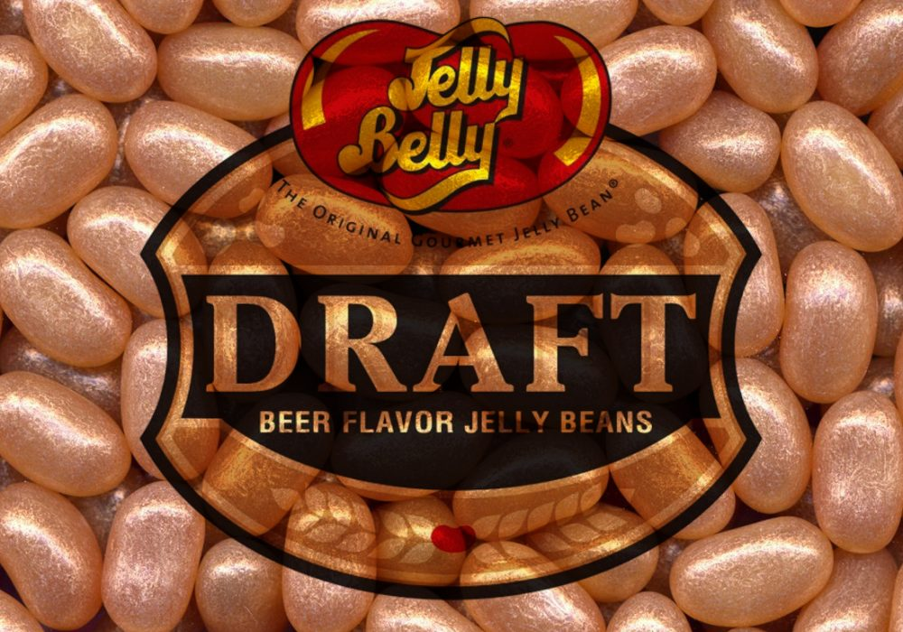 Jelly Belly Draft Beer Logo Copper Color