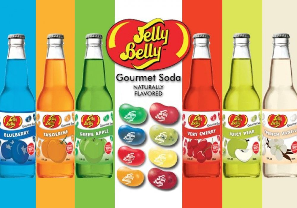 Jelly Belly Soda Liquid Treat 10 Colorful Tasty Flavors to Choose From