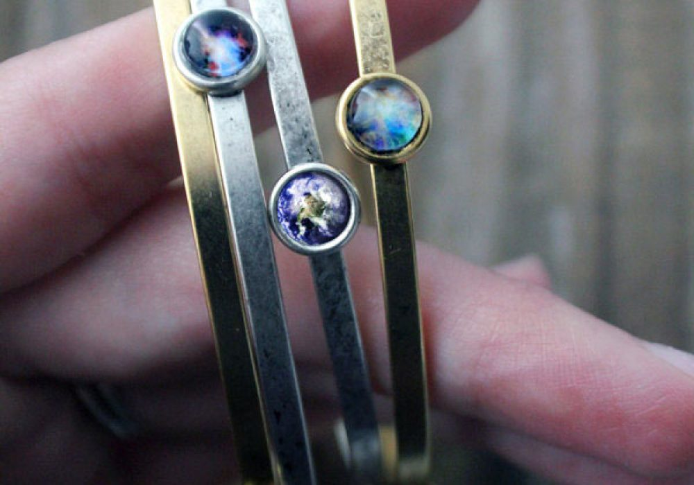 Jerseymaids Galaxy Space Bracelet Bangles for Sale