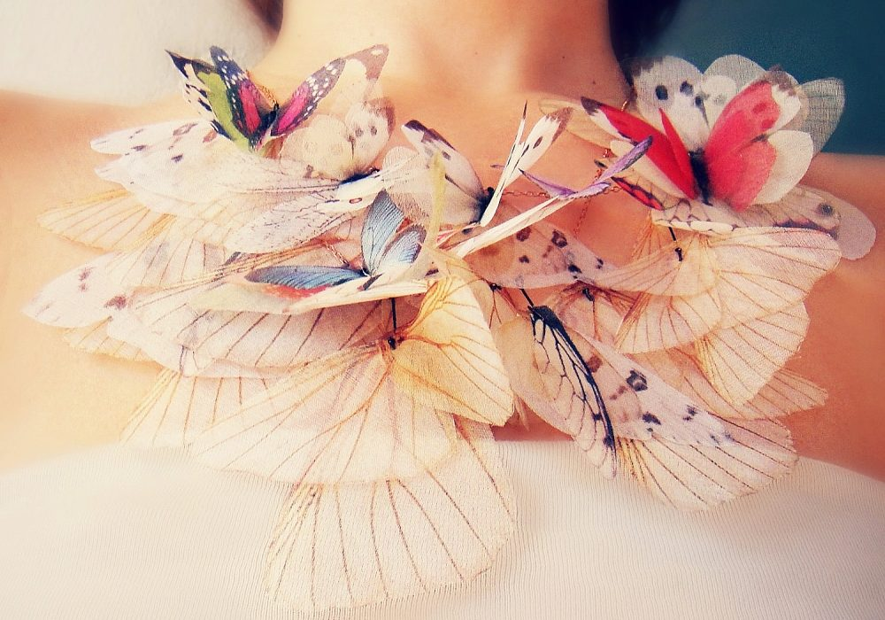 Jewelera Fluttery Butterfly Necklace Buy Cute Fancy Jewelry