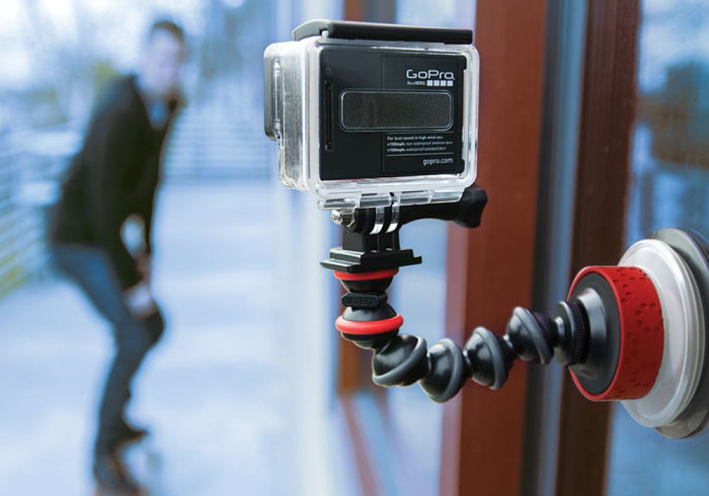 Joby Action Camera Suction Cup & GorillaPod Arm Cool Techie Stuff to Buy