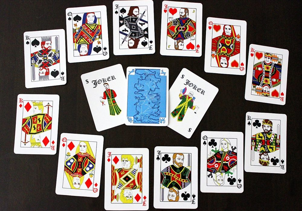 Joker And TheThief Game of Thrones Playing Cards Game of Thrones Theme Indoor Toy