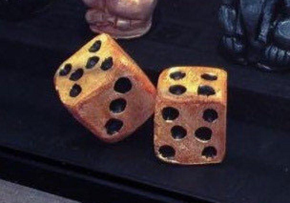 Jumanji Game Board Replica Creepy Dice