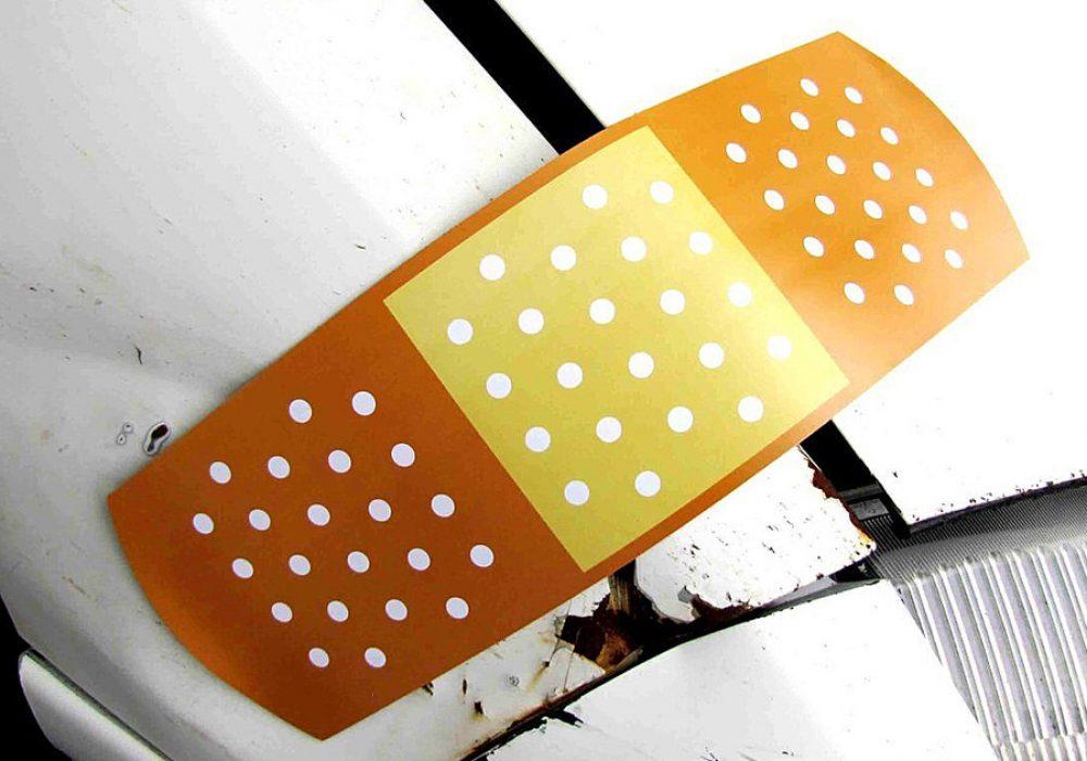 Jumbo Band Aid Magnet for Car Buy Funny Gag Gift