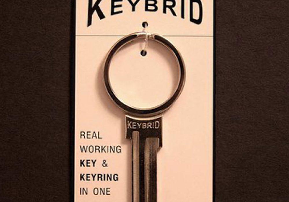Keybrid Key and Keyring in One Cool Housewarming Gift Idea