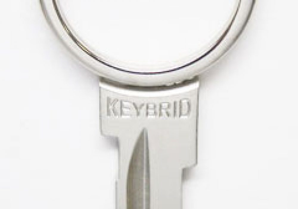 Keybrid Key and Keyring in One Cool Innovative Product