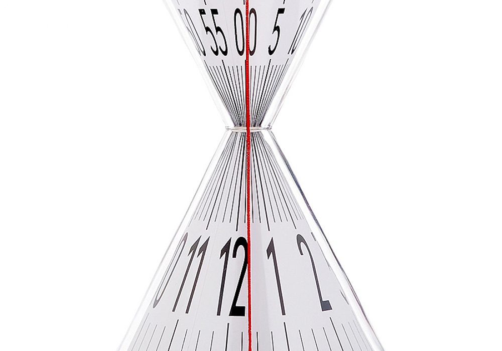 Kikkerland Hourglass Desk Clock Desktop Product