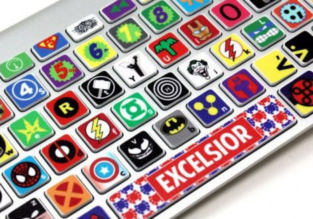 Killer Duck Decals Macbook Keyboard Super Hero Skin Cool Stuff to Buy Geeks