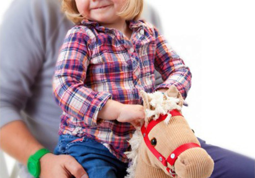 Knee Horsey by Donkey Unique Gift Idea for Baby Shower