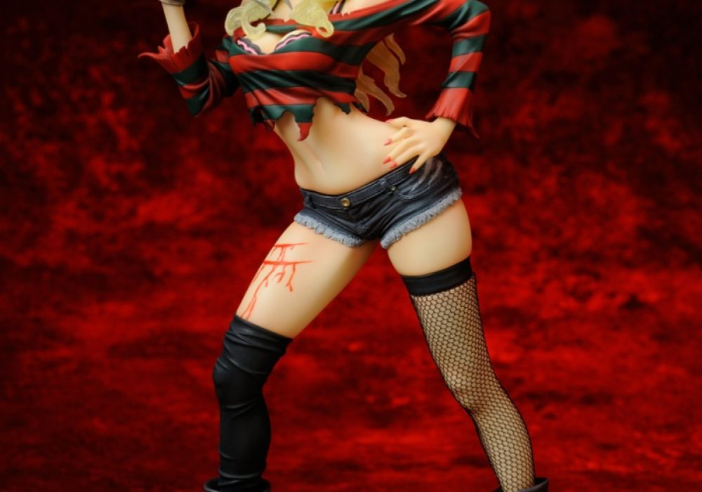 Kotobukiya Freddy vs. Jason Freddy Krueger Bishoujo Statue From Nigthmare to Fantasy