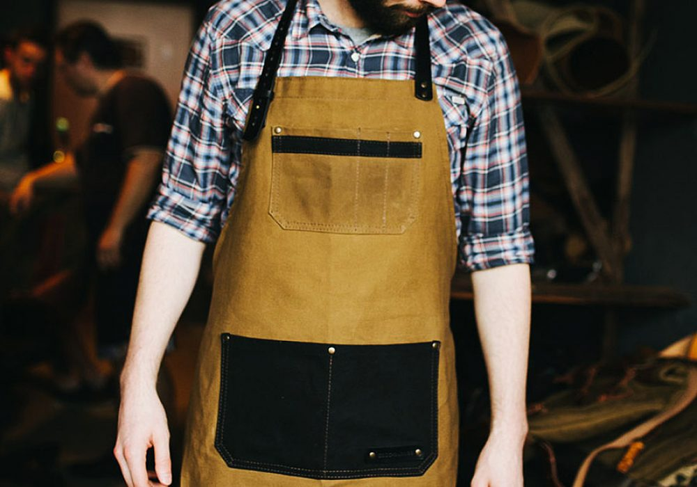 Kruk Garage Atelier Leather Apron Kitchen