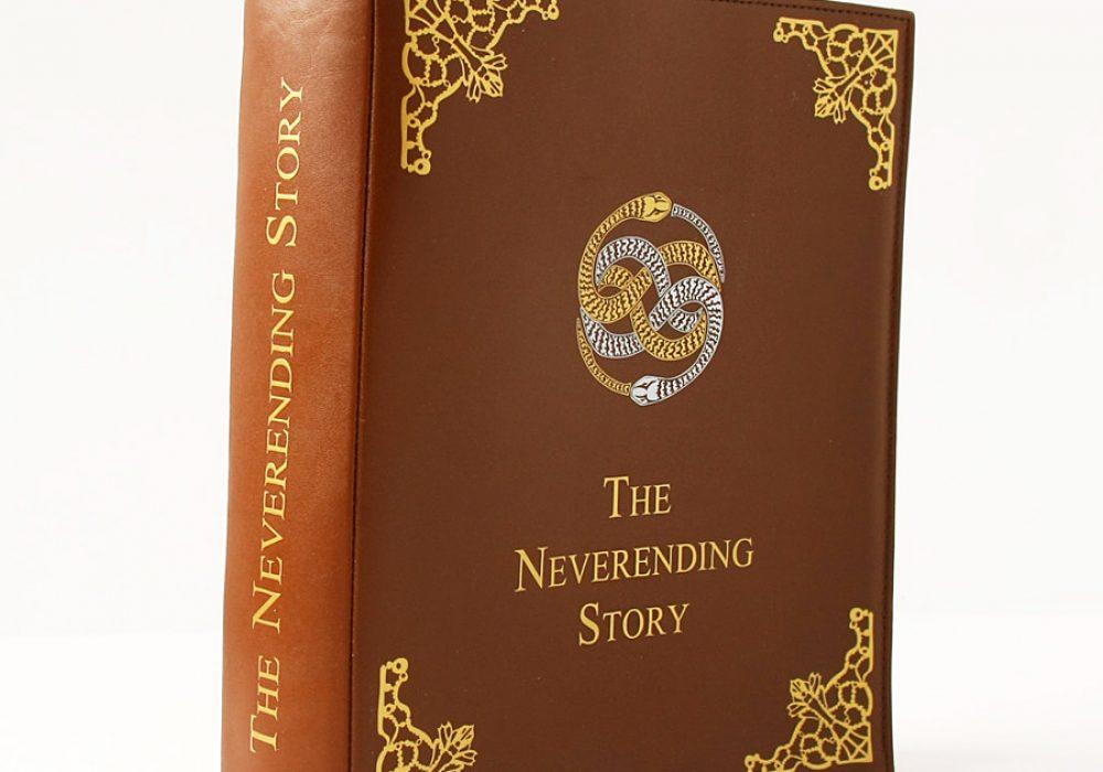 Krukru Studio Neverending Story Leather Book Purse Good Novelty Item
