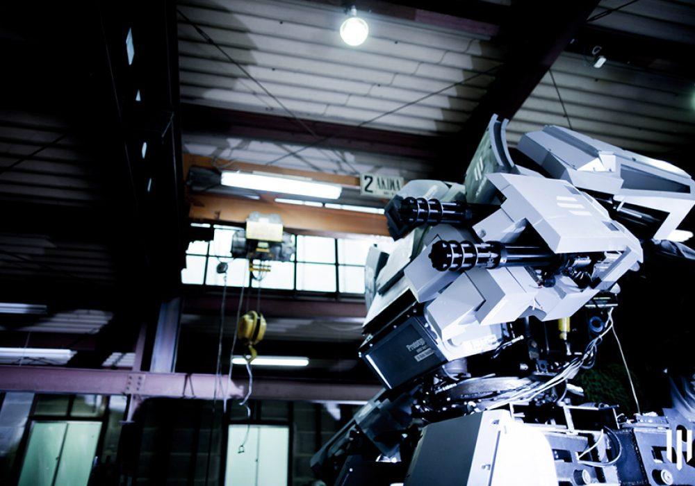 Kuratas by Suidobashi Heavy Industry BB Machine Gun for Crowd Control