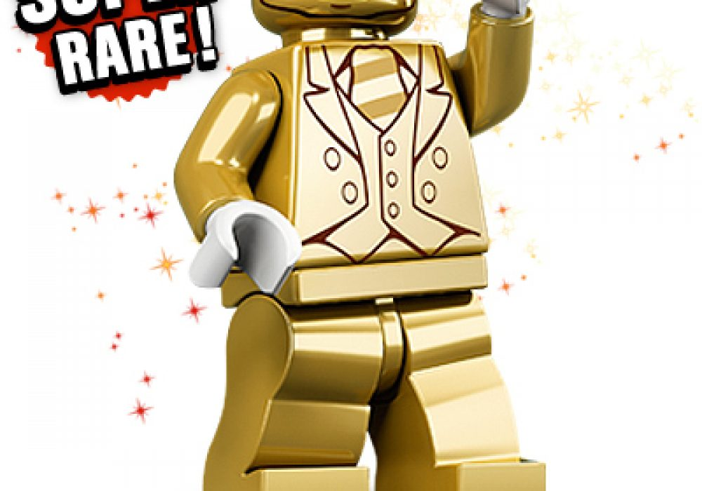 Lego Series 10 Mr. Gold Minifigure Overpriced Toy