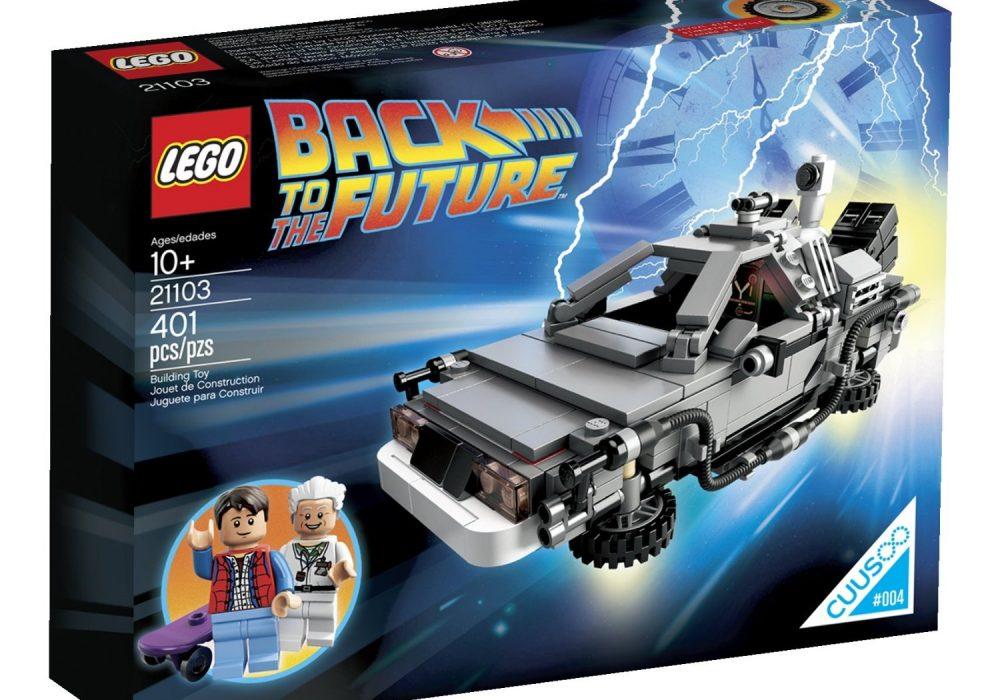 Lego The DeLorean Time Machine Set Christmas Gift Idea for Kids