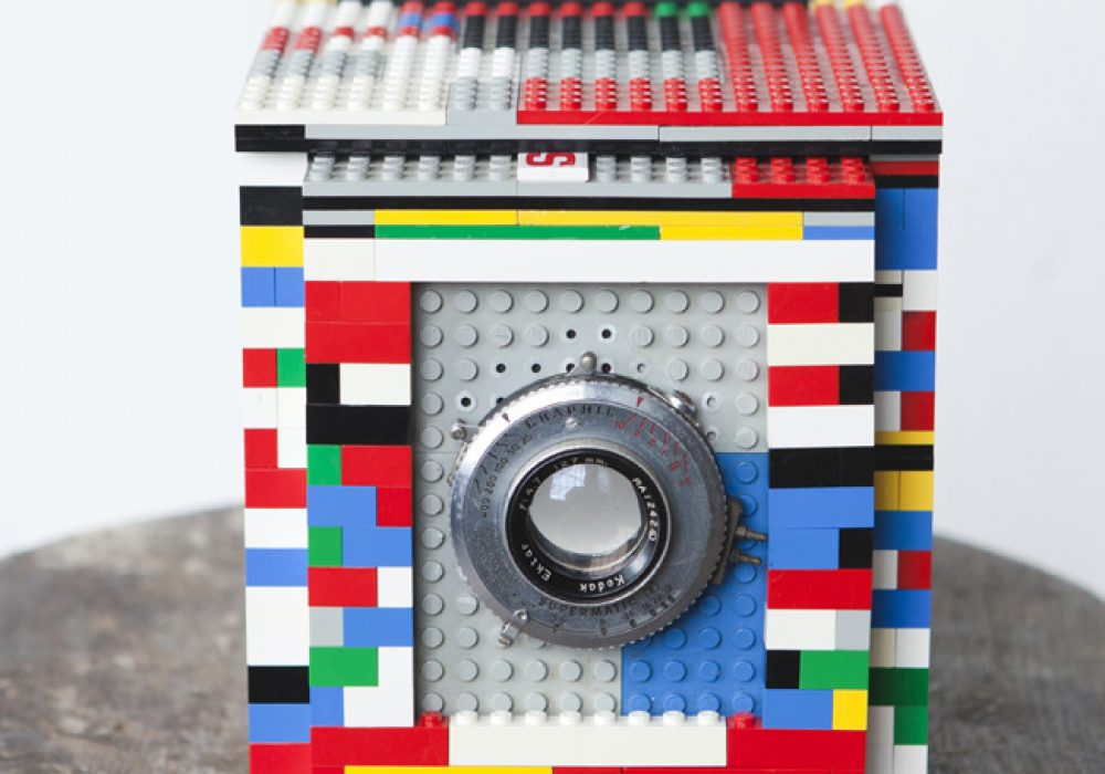 Legotron Mark I 4x5 Camera Cool DIY Lego Idea