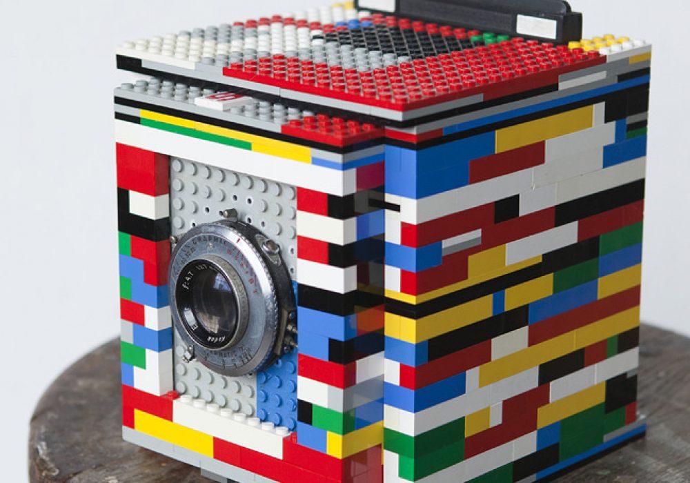 Legotron Mark I 4x5 Camera Cool Stuff you Cant Buy