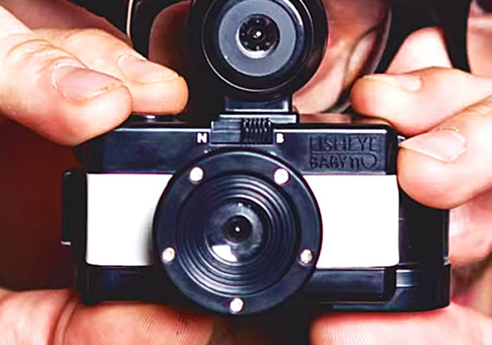 Lomography Fisheye Baby 110 Good for Photographers