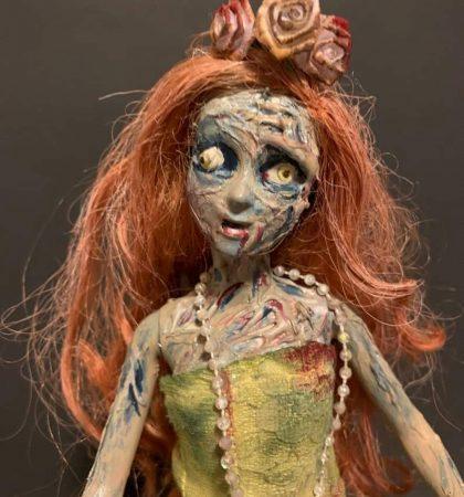 Lovely Lady Zombie Horror Barbie Art Doll