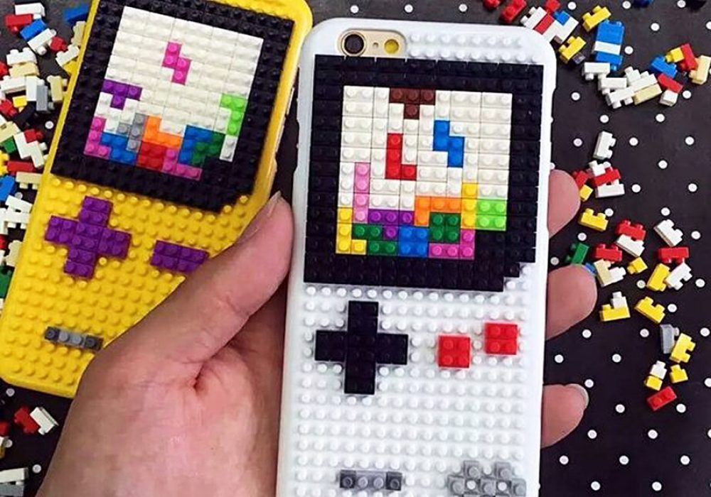 Loz Diamond Blocks DIY Case For iPhone Cool Accessory