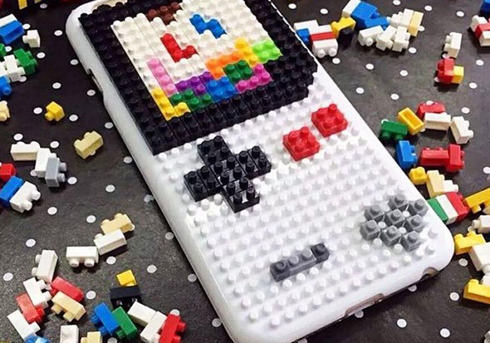 Loz Diamond Blocks DIY Case For iPhone Gift Idea for Techie