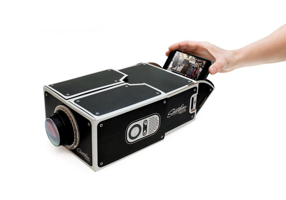Luckies Smartphone Projector Cool DIY iPhone Projector