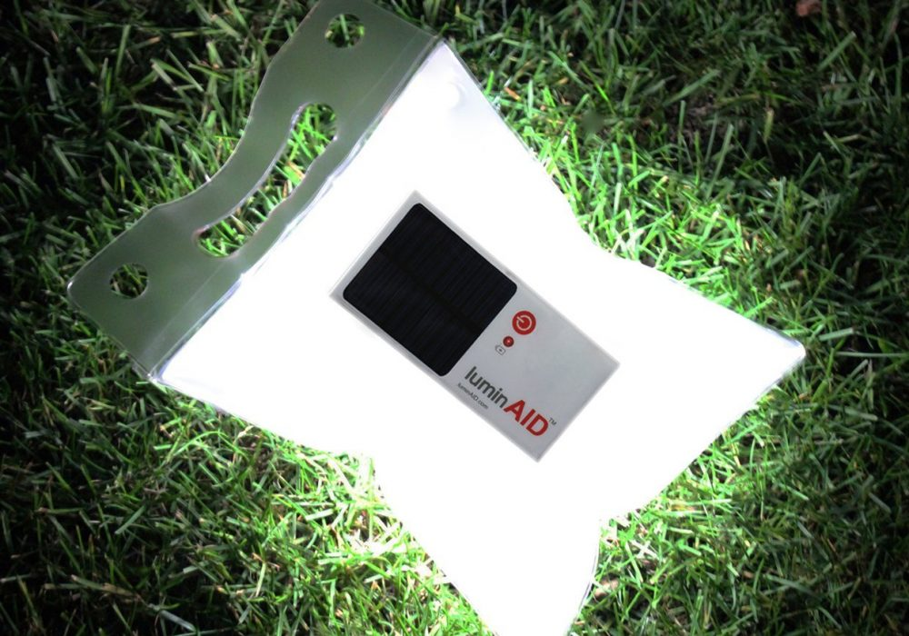 LuminAID Solar Inflatable Light for Emergency Kit and a Useful Disaster Tool