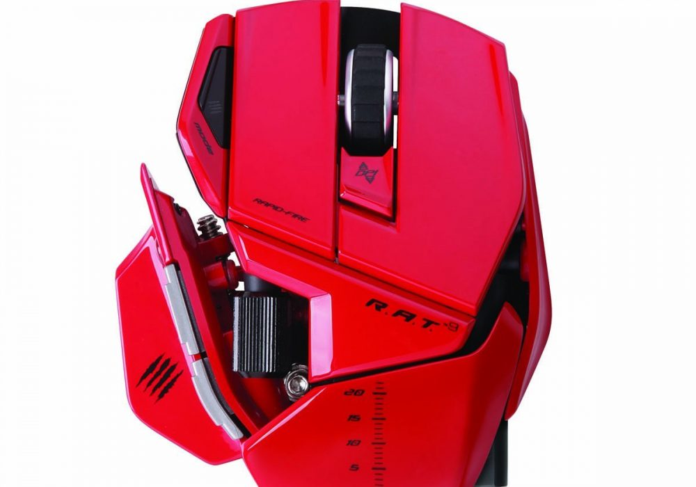 Mad Catz R.A.T.9 Gaming Mouse Compact