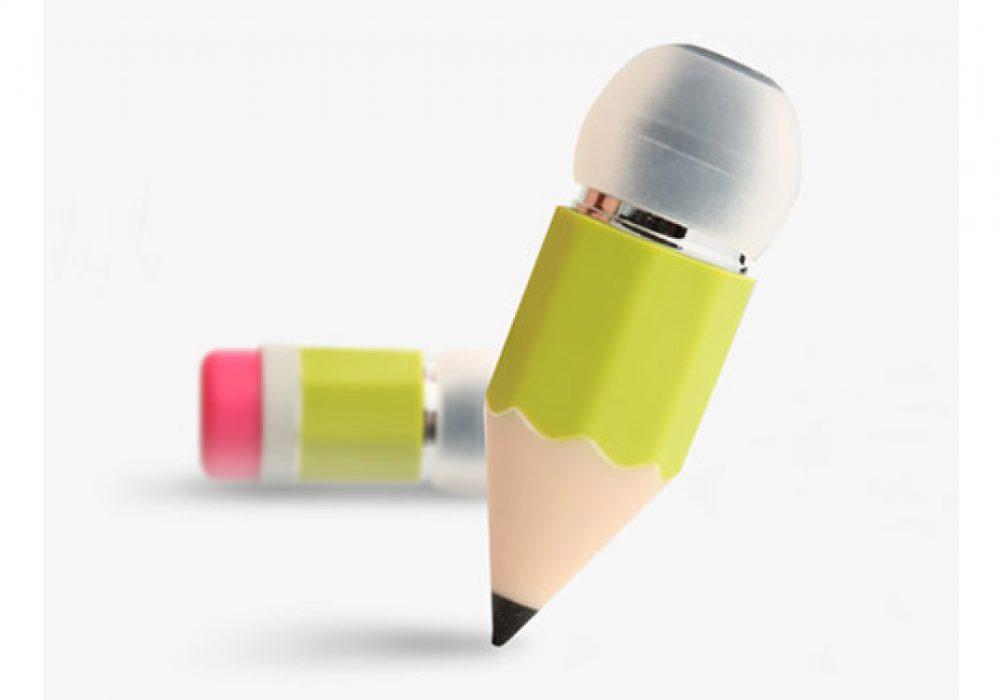 Magic Pencil Earphones Green Cute Stuff to Buy