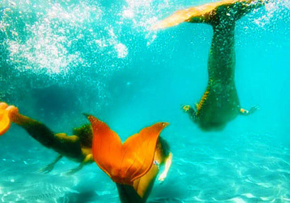 Mahina Mermaid Aqua Marine Merfins Cool Flipper