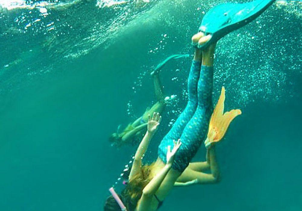 Mahina Mermaid Aqua Marine Merfins Swimming Gear
