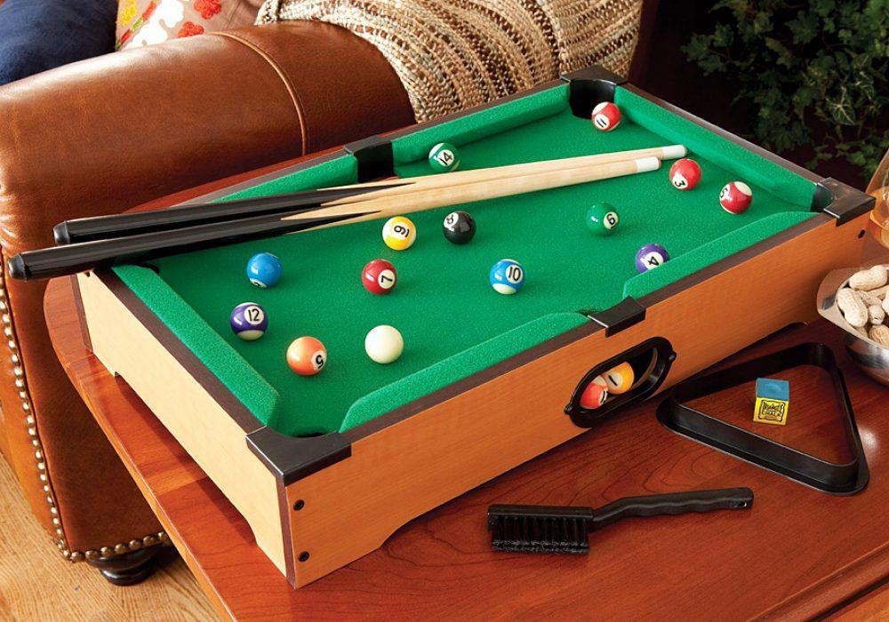 Mainstreet Classics Table Top Billiards Gift Idea