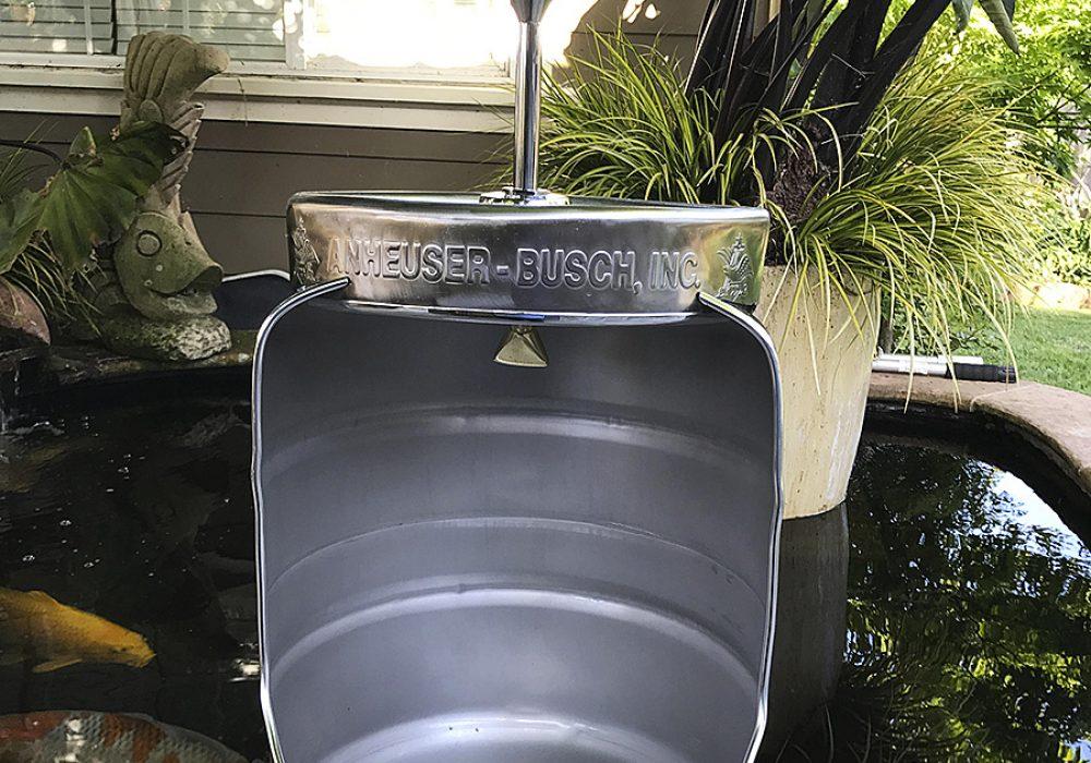 Mancave Concept Beer Keg Urinal Home Improvement