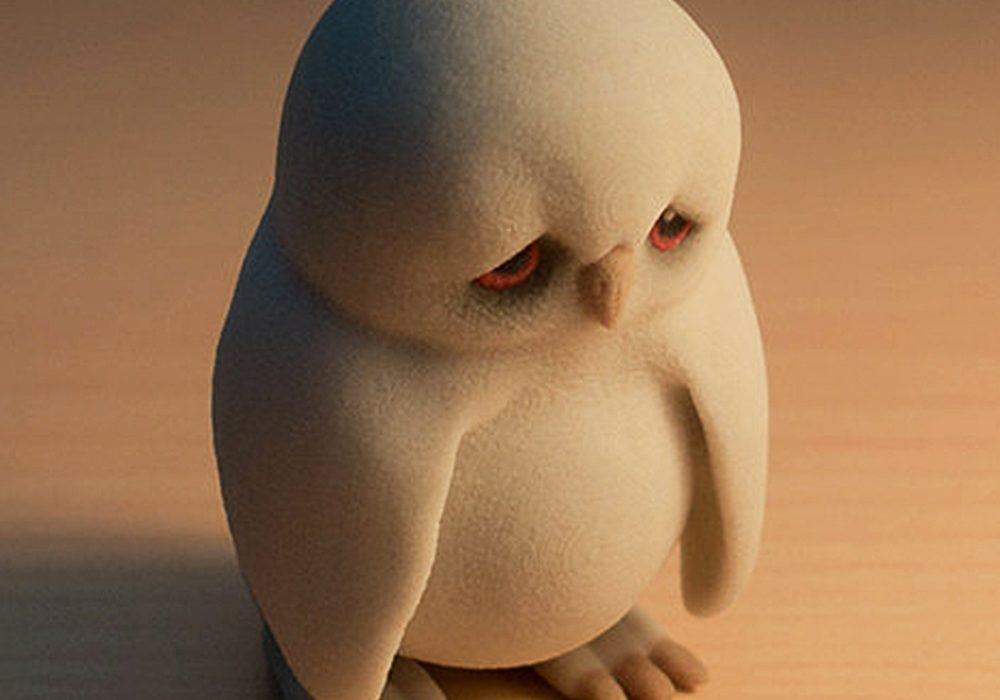 manuel-poehlau-3d-printed-sad-owl-figurine-made-with-sandstone