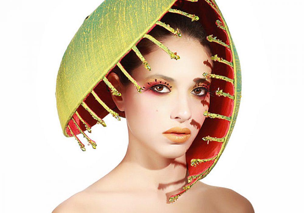 Maor Zabar Carnivorous Plant Hat Fun Headwear