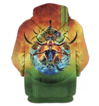 Men Hoodies Marvel Thor Ragnarok Sweatshirt