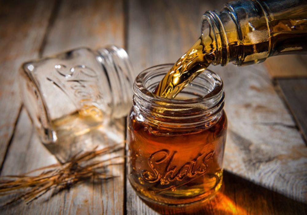 Mason Jar Shot Glass Liquor