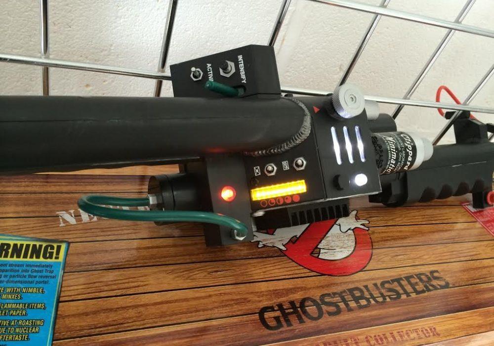 Mattel Ghostbusters Exclusive Prop Replica Neutrino Wand Button Details
