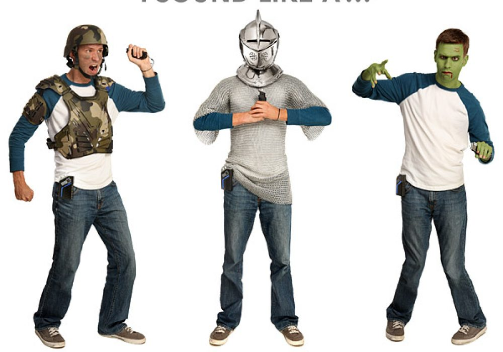 Mega Stomp Battle Audio Reality Effects Cosplay and Costume with Sounds