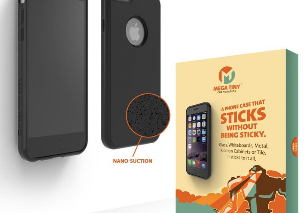 Mega Tiny Corp Anti-Gravity Selfie Case for iPhone Cool Invention
