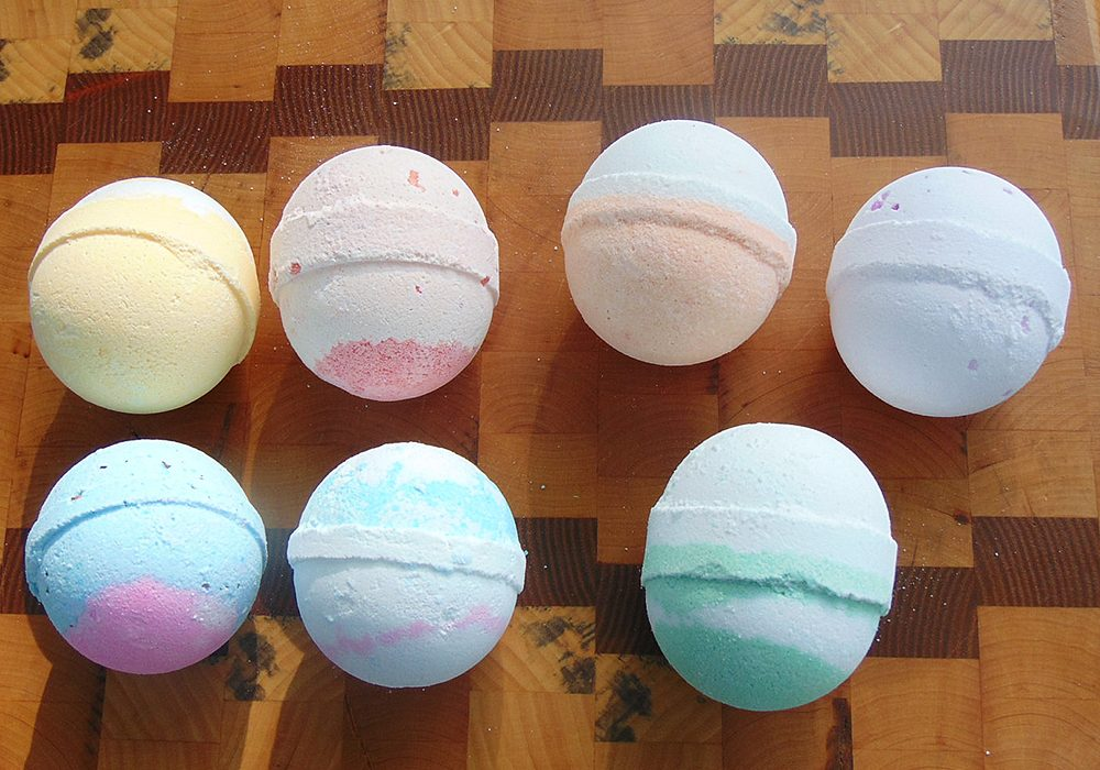 Megans Soapbox Bath Bomb Set Good for Bathtub