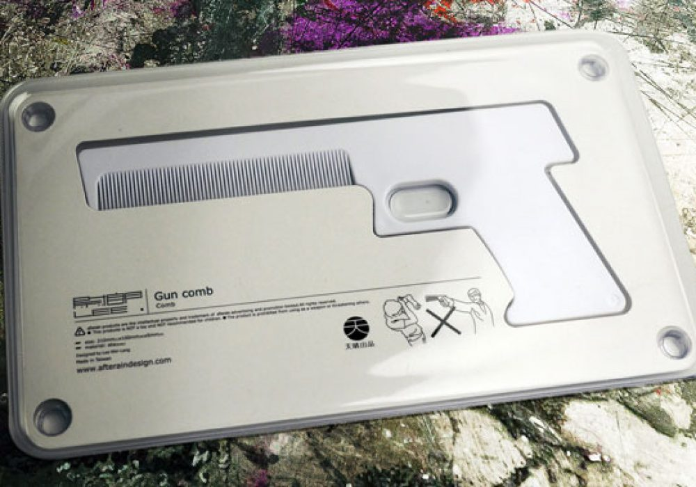 Megawing Gun Comb Cool Novelty Item to Buy