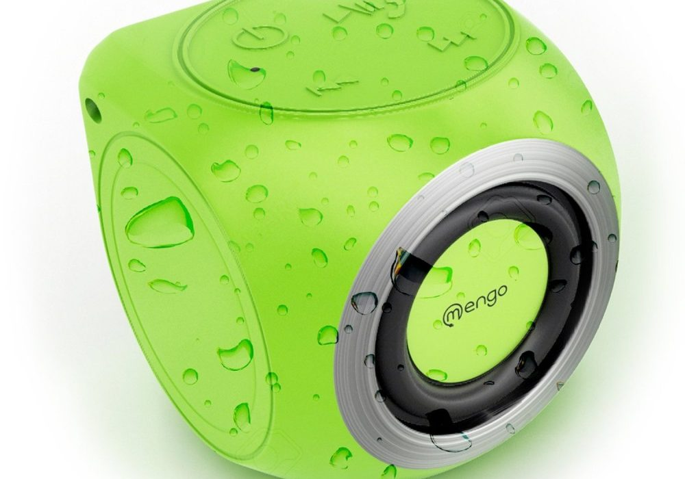 Mengo AquaCube Waterproof Speakers Buy Cool Gift for Kids