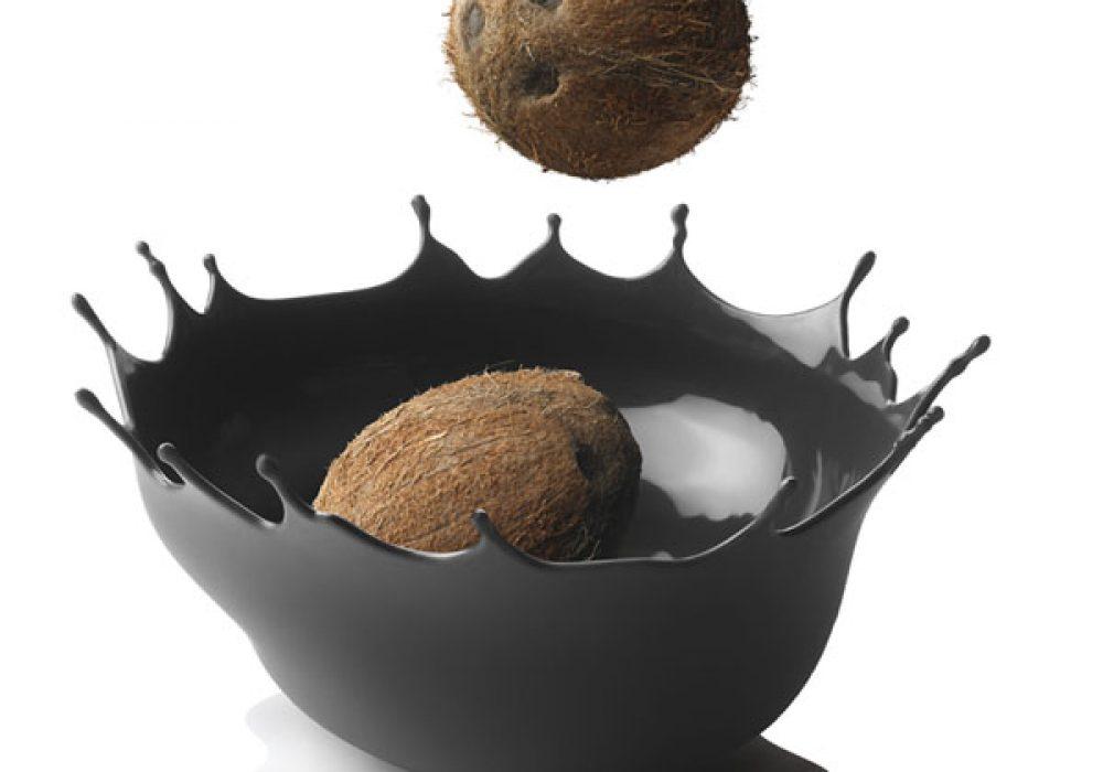 Menu Dropp Splash Fruit Bowl Carbon Coconut