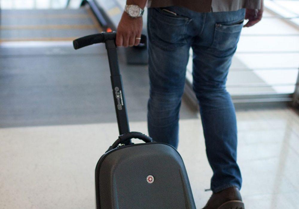 Micro Kickboard Micro Luggage Reloaded Travel Practical